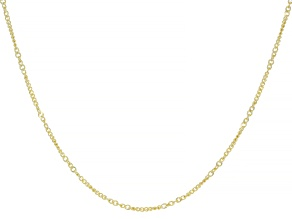 Splendido Oro™ 14K Yellow Gold Curb 24 Inch Chain Necklace
