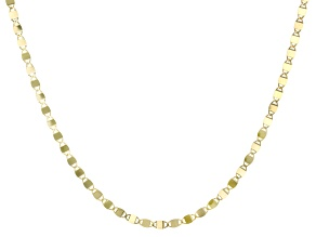 Splendido Oro™ 14K Yellow Gold 2MM Mirror Valentino Chain