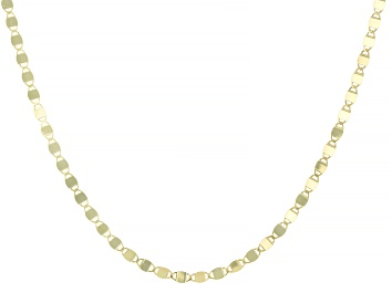 Picture of Splendido Oro™ 14K Yellow Gold 2MM Mirror Valentino Chain