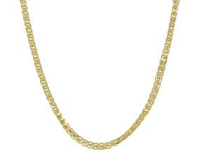 14K Yellow Gold 0.9MM Diamond-Cut Spiga Chain