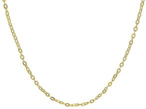 14K Yellow Gold 0.8MM Double Rolo Brillante Chain