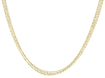 7cae19812c9ea 14k Yellow Gold Graduated Mesh Omega Necklace 20 inch - GSO391A ...