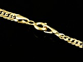 14k Yellow Gold Hollow Curb Link Necklace 30 inch