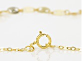 14k Yellow Gold Mariner Link Necklace 24 inch
