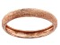 14k Rose Gold Textured Band Ring
