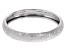 14k White Gold Textured Band Ring