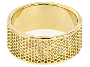 14k Yellow Gold Hollow Band Ring
