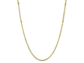 14k Yellow Gold Multistrand Necklace 32 inch