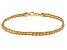14k Yellow Gold Hollow Rope Bracelet 8 inch