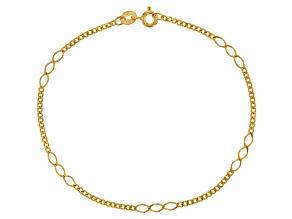 14k Yellow Gold Sospiro Bracelet 7.5 inch 2.5mm