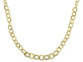 14k Yellow Gold Graduated Grande Sole 20 inch Necklace