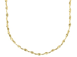 14k Yellow Gold Bella Valentina 18 inch Chain Necklace