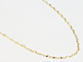 14k Yellow Gold Bella Valentina 20 inch Chain Necklace