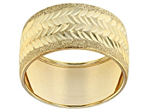14k Yellow Gold Oro Di Fuoco Ring