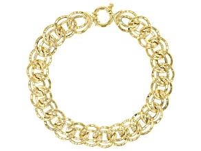14k Yellow Gold Collezione Artigiana 7 1/2 inch Bracelet