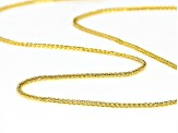 14k Yellow Gold Wheat 20 inch Chain Necklace
