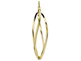 Splendido Oro™ Divino 14K Yellow Gold With Sterling Silver Core Spiral Pendant