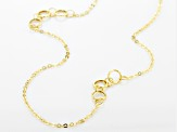 Splendido Oro™ 14K Yellow Gold Geometric Circles Flat Rolo Fancy Necklace 20 Inch