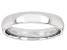 Moda Al Massimo® Rhodium Over Bronze Comfort Fit 4MM Band Ring