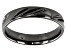 Moda Al Massimo® Comfort Fit Gunmetal Over Rhodium 4MM Diamond Cut Band Ring