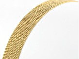 MODA AL MASSIMO™ 18K Yellow Gold Over Bronze Multi-Row Necklace 38