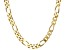 "Moda Al Massimo™ 18K Yellow Gold Over Bronze 12MM Gauge Figaro 20"" Necklace"