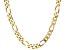 Moda Al Massimo™ 18K Yellow Gold Over Bronze 12MM Gauge Figaro Necklace