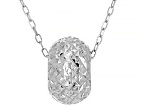 14k White Gold Necklace 18 Inches