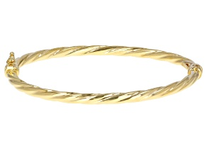 10K Yellow Gold Torchon 6.75