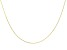 10K Yellow Gold Rolo Chain 20 Inch Necklace