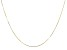 10K Yellow Gold Box Chain 20 Inch Necklace