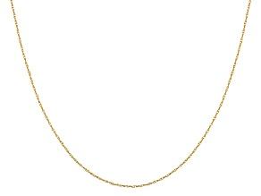 14k Yellow Gold Pendant Chain