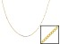 Womens Solid 10kt Yellow Gold 0.9 Gram Square Box Link 18 inches Chain