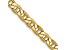 14k Yellow Gold 4.1mm Semi-Solid Mariner Chain 16 inch