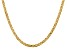 14k Yellow Gold 4.1mm Semi-Solid Mariner Chain 18 inch
