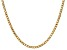 """14k Yellow Gold 3.35mm Semi-solid Curb Link Chain 24"""""""