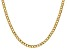 """14k Yellow Gold 4.3mm Semi-Solid Curb Link Chain 18"""""""