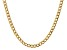 """14k Yellow Gold 5.25mm Semi-Solid Curb Link Chain  16"""""""