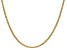 14k Yellow Gold 2.40mm Semi-Solid Mariner Chain 16 inch