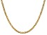 14k Yellow Gold 3.20mm Semi-Solid Mariner Chain 16 inch