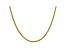 "14k Yellow Gold 2.75mm Semi-solid Wheat Chain 20"""