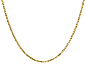 14k Yellow Gold 1.9mm Box Chain 18""