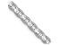 14k White Gold 3mm Mariner Link Chain 16 inch