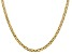 14k Yellow Gold 3.75mm Concave Mariner Chain 22 inch