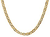 14k Yellow Gold 5.25mm Concave Anchor Chain 18