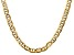 14k Yellow Gold 7mm Concave Mariner Chain 24 inch