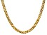 """14k Yellow Gold 6.25mm Beveled Curb Chain 22"""""""