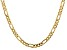 """14k Yellow Gold 5.50mm Concave Open Figaro Chain 18"""""""