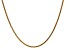 14k Yellow Gold 1.8mm Solid Diamond Cut Wheat Chain 20 inches