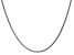14k White Gold 1.8mm Solid Diamond Cut Wheat Chain 18 inches